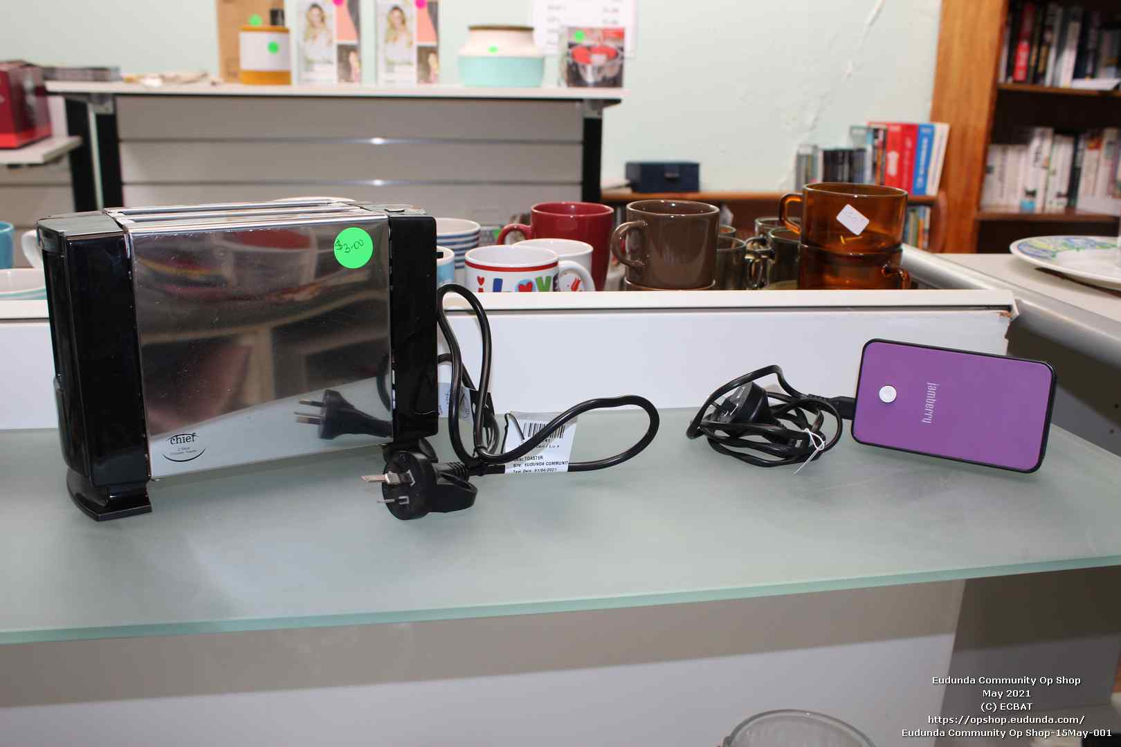 Eudunda Community Op Shop-15May-001 - Electrical Goods Now Available
