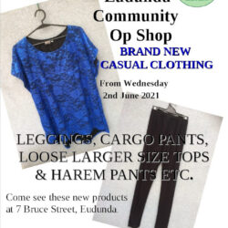Trade Winds Gear Clothing Coming to the Eudunda Community Op Shop