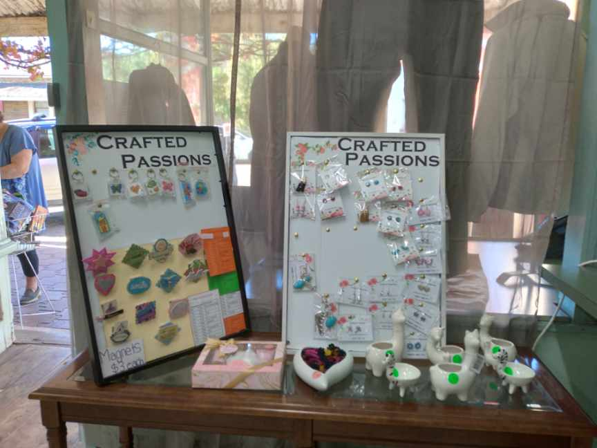 Eudunda Community Op Shop - Crafted Passions Jewelry & Magnets - May 2021